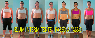 Antes e depois da dieta com Jejum Intermitente