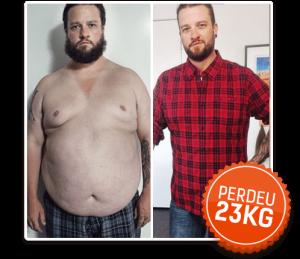 Antes e Depois Dieta Low Carb