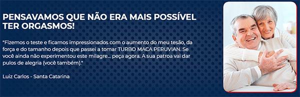 Depoimentos de quem usou Turbo Maca Peruvian